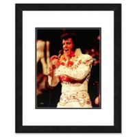 Elvis Presley Photo One 18-Inch x 22-Inch Canvas Wall Art