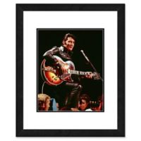 Elvis Presley Photo Two 18-Inch x 22-Inch Canvas Wall Art