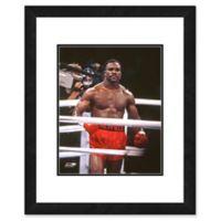 Evander Holyfield in Ring 22-Inch x 26-Inch Framed Wall Art
