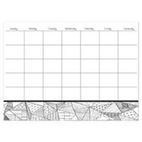 WallPops!® Obelisk Coloring Calendar Decal