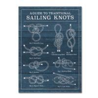 Trademark Fine Art 'Vintage Sailing Knots I' 14-Inch x 19-Inch Wall Art