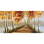 Ren-Wil Gold Trees 30-Inch x 60-Inch Canvas Wall Art