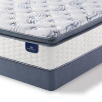Serta® Perfect Sleeper® Willamette Super Pillow Top Low Profile Twin XL Mattress Set