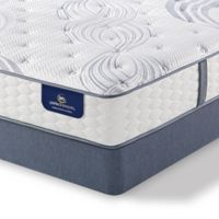Serta® Perfect Sleeper® Lealake Luxury Firm Low Profile King Mattress Set