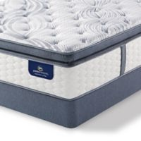 Serta® Perfect Sleeper® Southboro Firm Super Pillow Top Low Profile Cal King Mattress Set
