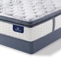 Serta® Perfect Sleeper® Southboro Plush Super Pillow Top Low Profile Cal King Mattress Set