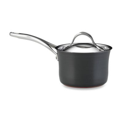 anolon nouvelle copper 2quart covered saucepan