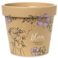 """Precious Moments® """"Bloom Where You're Planted"""" Large Planter"""