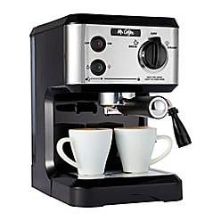 Product Image For Mr Coffee 19 Bar Pump Espresso Machine