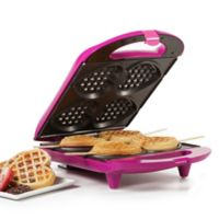 Holstein® Housewares Heart-Shaped Waffle Maker in Magenta