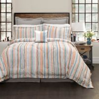 Lush Décor Abby King Comforter Set in Orange