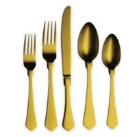 Mepra Due Champagne 5-Piece Flatware Place Setting