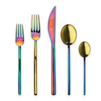 Mepra Due Rainbow 5-Piece Flatware Place Setting