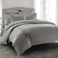 Wamsutta® Dream Zone® 400-Thread-Count King Duvet Cover Set in Grey