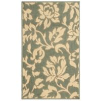 Laura Ashley® Jaya Bennet Indoor/Outdoor 8-Foot x 11-Foot Area Rug in Green