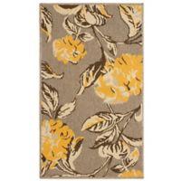 Laura Ashley® Jaya Hydrangea Indoor/Outdoor 2-Foot x 3-Foot Accent Rug in Yellow