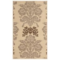 Laura Ashley® Tatton 8-Foot x 11-Foot Indoor/Outdoor Area Rug in Taupe