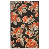 Laura Ashley® Jaya Carlisle Indoor/Outdoor 2-Foot x 3-Foot Accent Rug in Orange