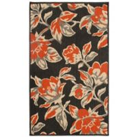 Laura Ashley® Jaya Carlisle Indoor/Outdoor 2-Foot 3-Inch x 3-Foot 9-Inch Accent Rug in Orange