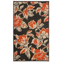 Laura Ashley® Jaya Carlisle Indoor/Outdoor 5-Foot x 8-Foot Area Rug in Orange