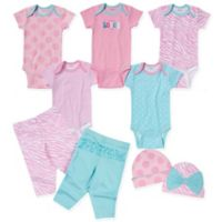 Gerber® Size 3-6M 9-Piece Love Layette Set in Pink