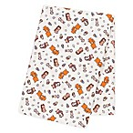 Trend Lab® Wild Bunch Jumbo Flannel Swaddle Blanket