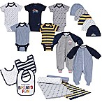 Gerber® Size 0-3M 19-Piece Sports Layette Set in Navy