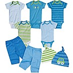 Gerber® Size 3-6M 9-Piece Car Layette Set in Blue