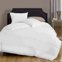 Canada's Best 6 oz. Cotton Rich Twin Comforter in White