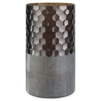 Surya Modern Vase in Brown/Silver