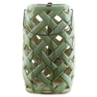 Surya Galilee Jaxson Decorative Medium Lantern in Green