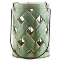 Surya Galilee Jaxson Decorative Large Lantern in Green