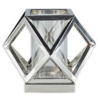 Surya Brinkley Small Decorative Candle Holder in Silver