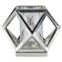 Surya Brinkley Large Decorative Candle Holder in Silver