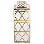 Madison Park Delancy Small Canister in Gold