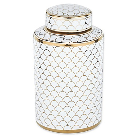 image of Madison Park Isla Canister in Gold