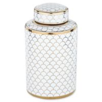 Madison Park Isla Canister in Gold