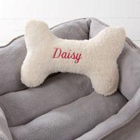 Small Dog Bone Pet Pillow