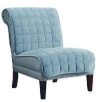Sure Fit® Deluxe Armless Chair Slipcover in Mist