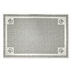 "Fresh Kitty™ 30"" x 24"" Decorative Litter Trapper Mat in Grey"