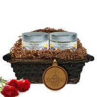 Pure Energy Apothecary Supreme Sensation Pure Aromatherapy Split Letter Pineapple Gift Basket
