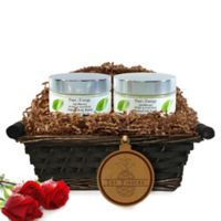 Pure Energy Apothecary Supreme Sensation Pure & Natural Split Letter Pineapple Gift Basket