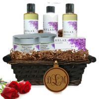 Pure Energy Apothecary Ultimate Body Lavender Monogram Gift Basket