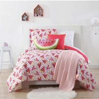 My World Fruity 2-Piece Twin XL Comforter Set in Pink