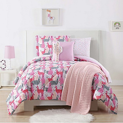 Laura Hart Kids Llama Comforter Set Bed Bath Amp Beyond