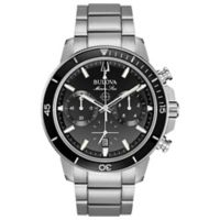 Bulova Men's 45mm Marine Star Chronograph Watch in Stainless Steel