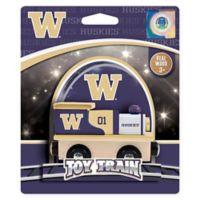 University of Washington Team Wooden Toy Train
