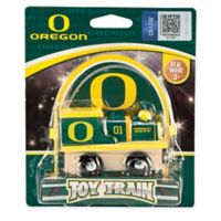 University of Oregon Team Wooden Toy Train