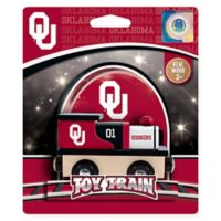 University of Oklahoma Team Wooden Toy Train