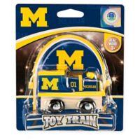 University of Michigan Team Wooden Toy Train